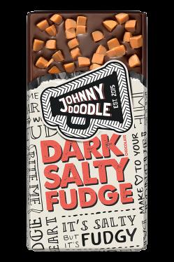 chocolade dark salty fudge