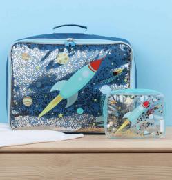 Koffer: Glitter - ruimte