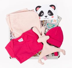 kraampakket snoes konijn rose