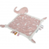 Knuffeldoek walvis rose- Little dutch
