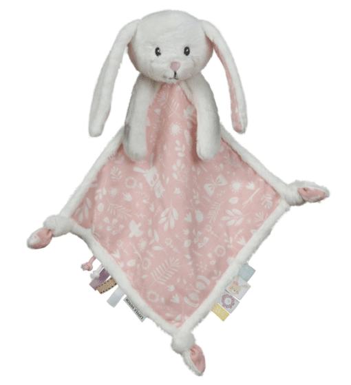 knuffeldoekje konijn rose little dutch