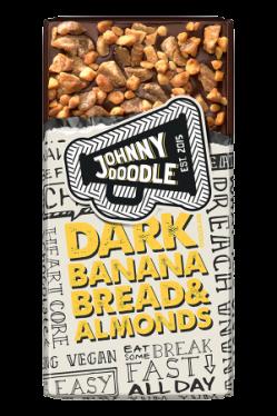 Johnny Doodle Dark Banana Bread & Almond