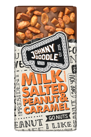 Johnny Doodle Milk Salted Peanut & Caramel