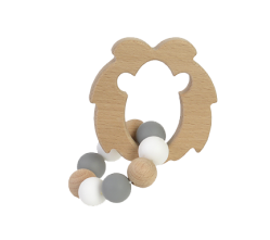 FSC Wooden Lion Teether