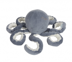 Knuffel Octopus Ocean Blue