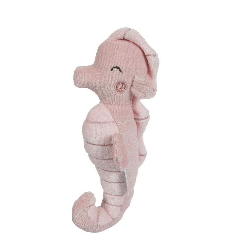 Rammelaar Zeepaardje Little Dutch Ocean Pink Kraamkado Nl